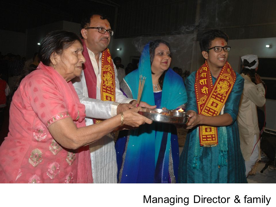 Managing Director & family