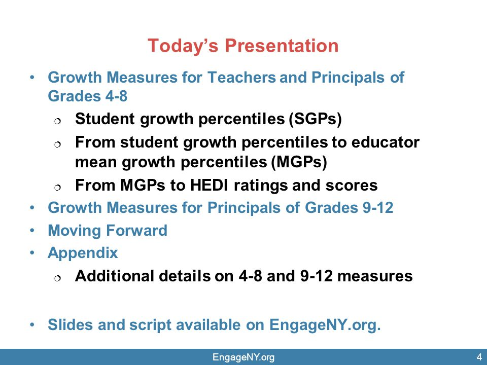 5 STATE-PROVIDED GROWTH MEASURES FOR TEACHERS AND PRINCIPALS OF GRADES 4–8 ENGLISH LANGUAGE ARTS (ELA) AND MATHEMATICS 2012–13 AND 2013–14