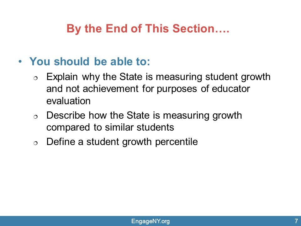 EngageNY.org STATE-PROVIDED MEASURES OF STUDENT GROWTH FOR PRINCIPALS OF GRADES 9–12 2012–13 AND 2013–14