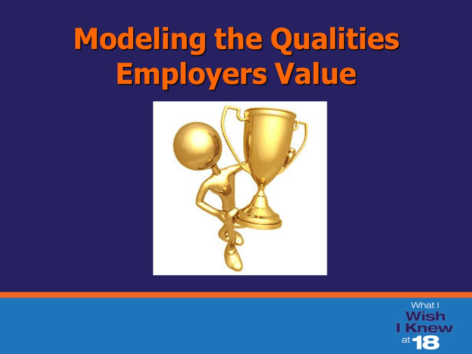 Modeling the Qualities Employers Value