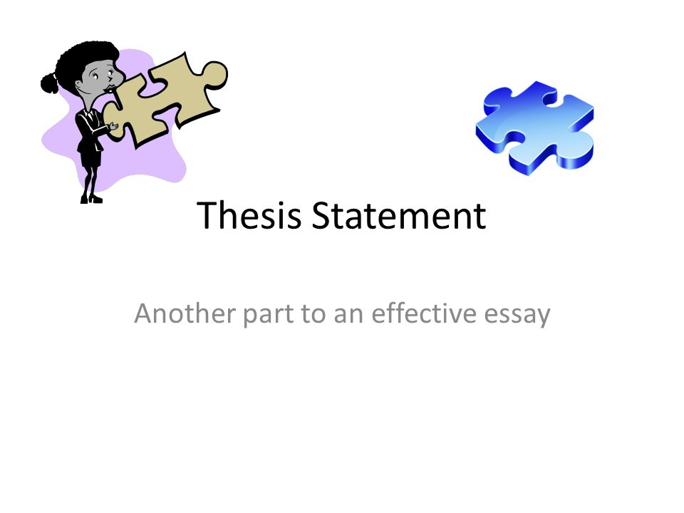 Recycling Thesis Statement