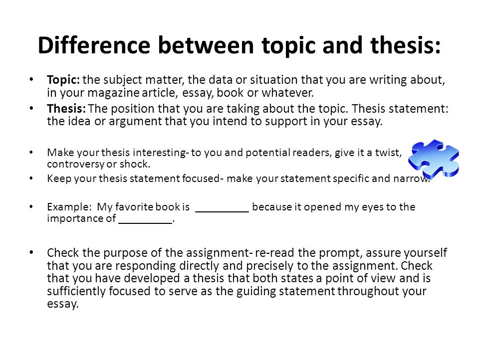 thesis statement essay environment