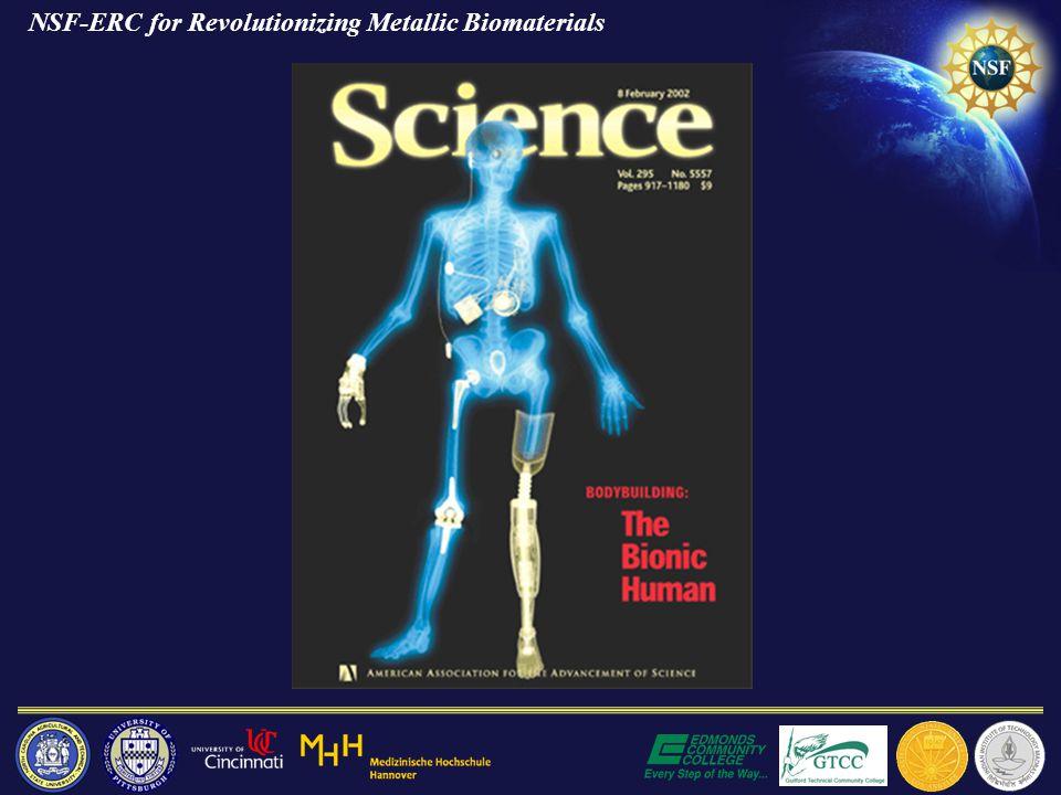 NSF-ERC for Revolutionizing Metallic Biomaterials
