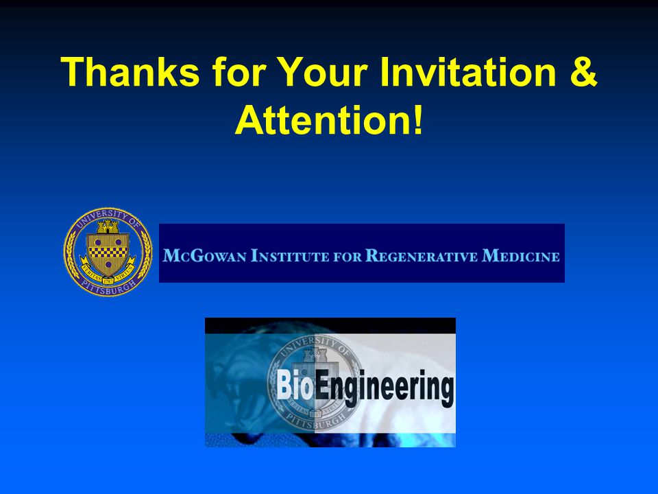 Thanks for Your Invitation & Attention!