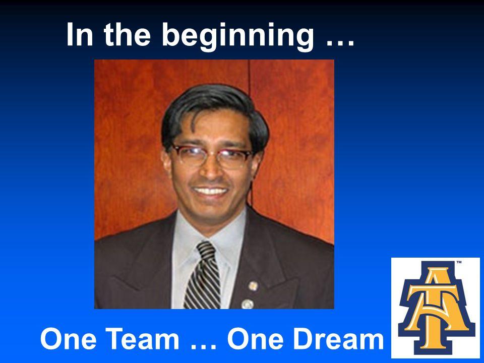 One Team … One Dream