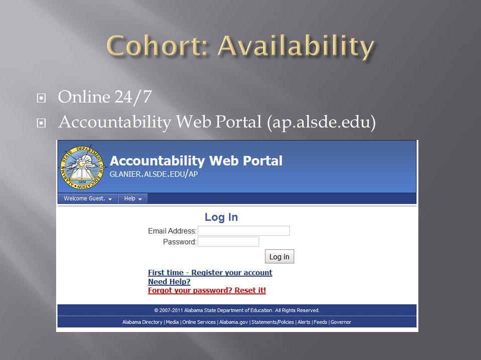  Online 24/7  Accountability Web Portal (ap.alsde.edu)