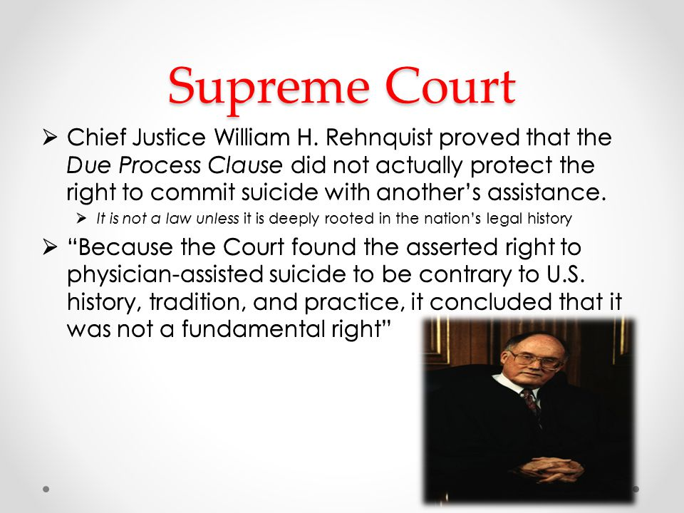 Supreme Court cont. On June 26, 1997, the Court made its decision.