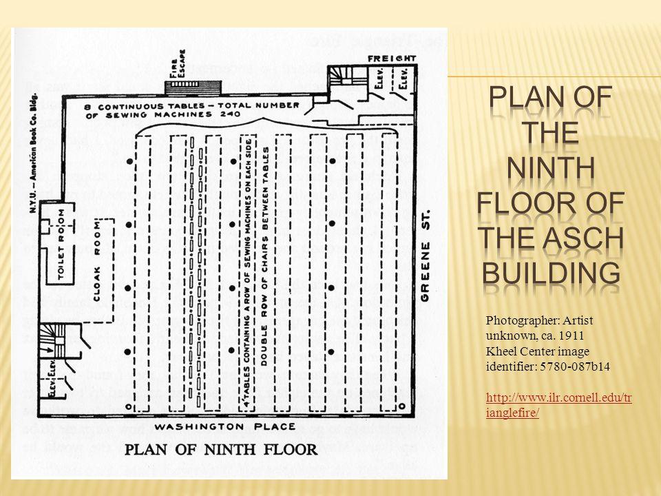 http://www.ilr.cornell.edu/trianglefire/supplemental/3Dmodel.html Model of the ninth floor: