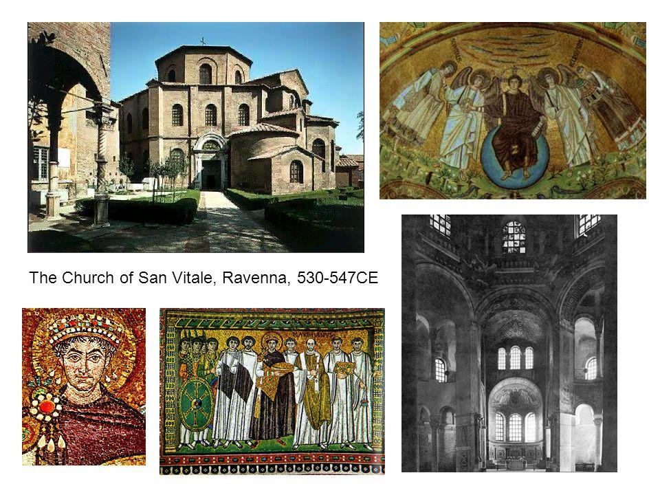 The Church of San Vitale, Ravenna, 530-547CE