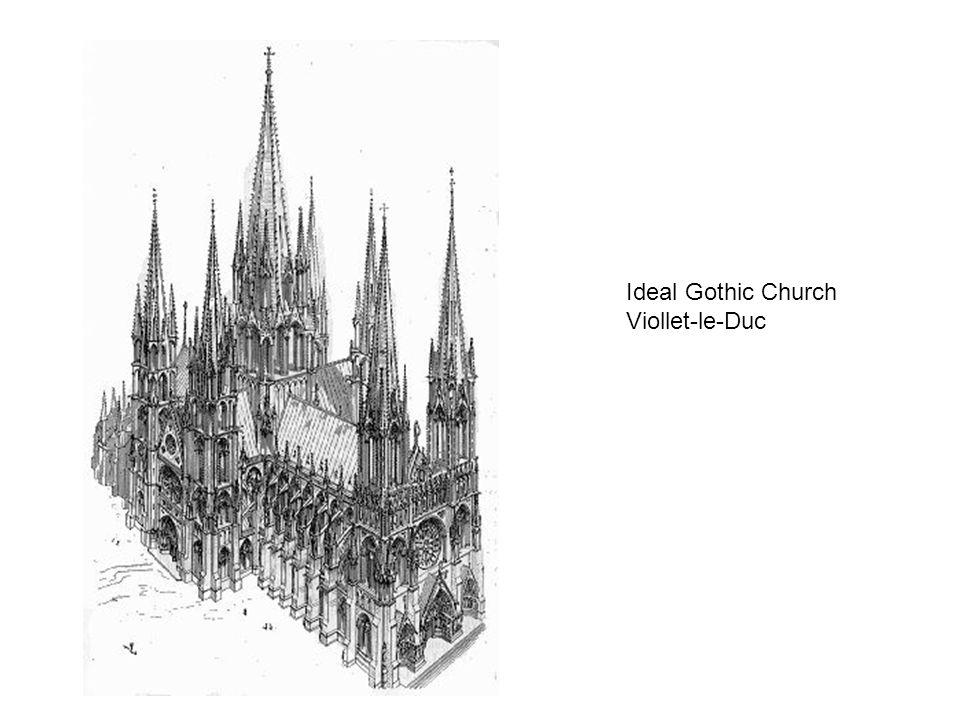 Ideal Gothic Church Viollet-le-Duc
