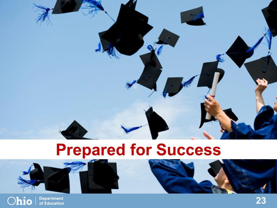 23 Prepared for Success