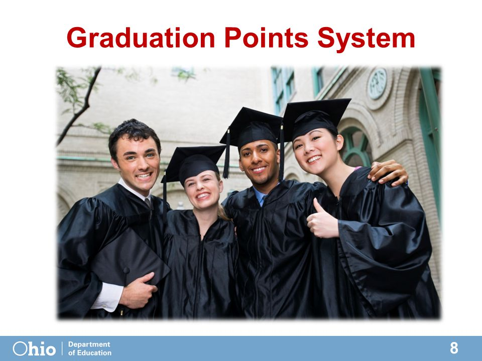 8 Graduation Points System