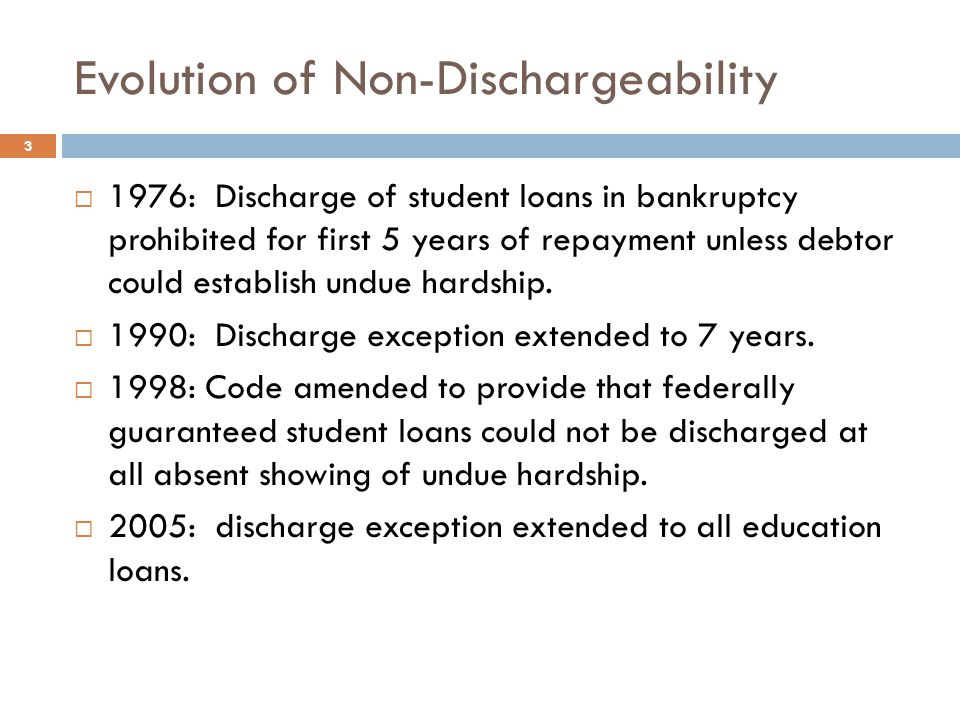 Effect of an Objection to a Student Lender's POC  Disallowance from payment through the estate vs.