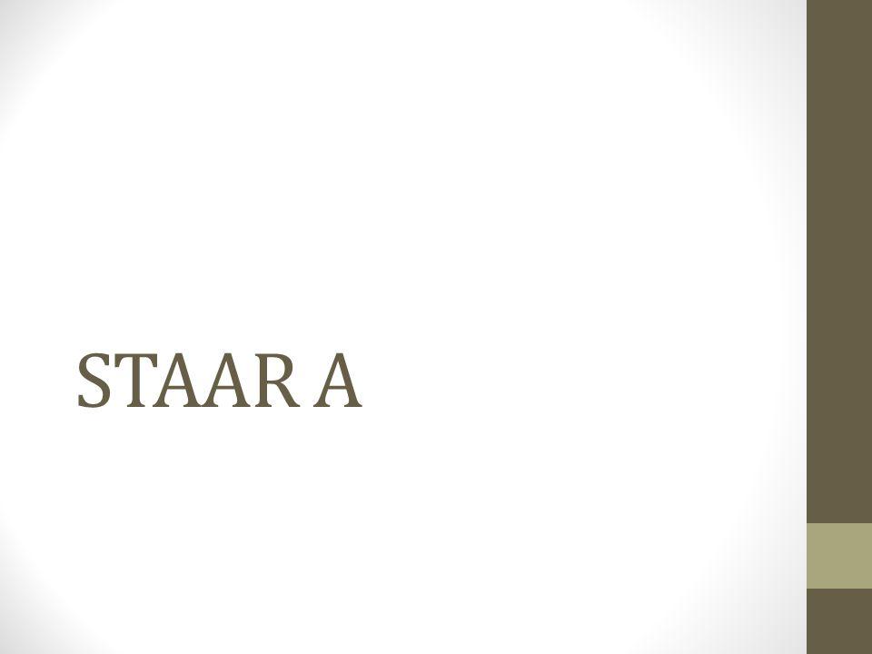 STAAR A