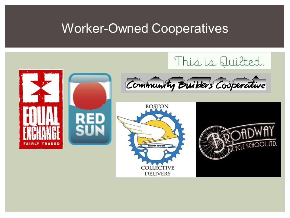 Customer-Owned Cooperatives