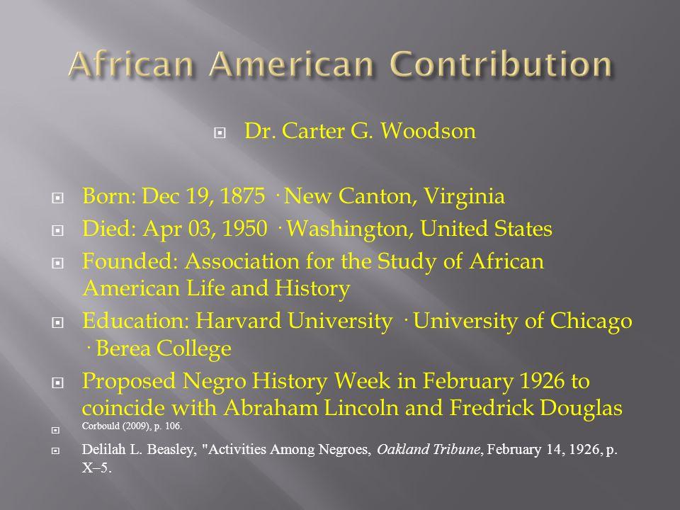  Dr.Carter G.
