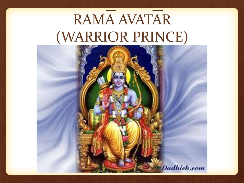 RAMA AVATAR (WARRIOR PRINCE)