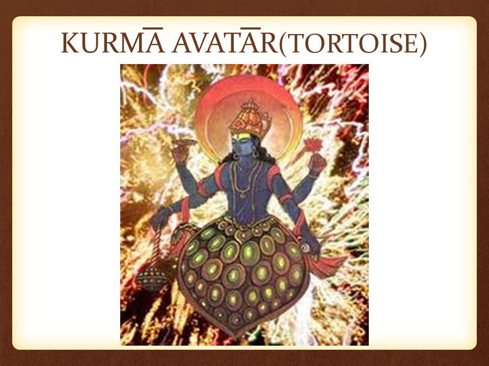 KURMA AVATAR (TORTOISE)