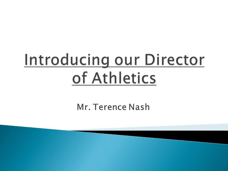 Mr. Terence Nash
