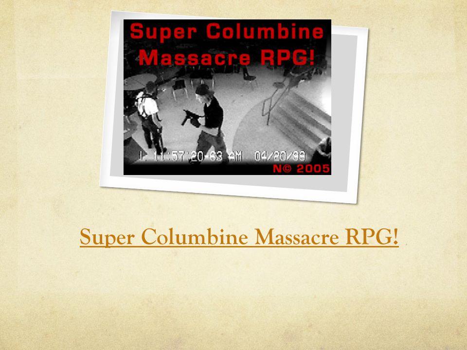 Super Columbine Massacre RPG!