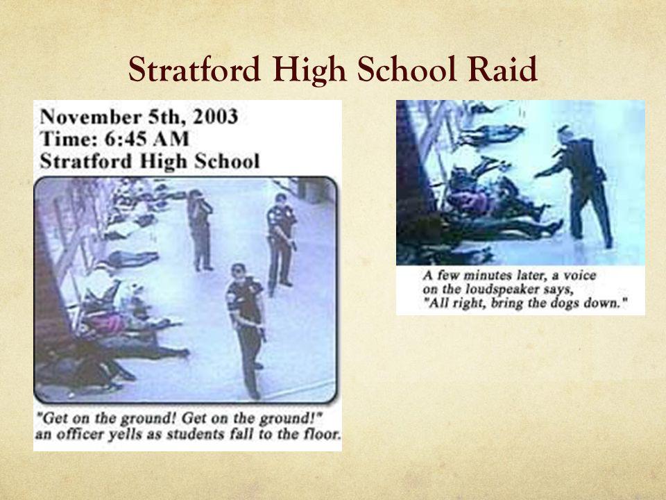 Stratford High School Raid