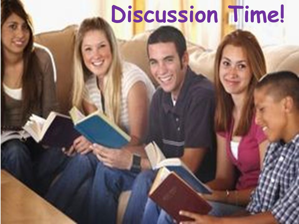 Discussion Time!
