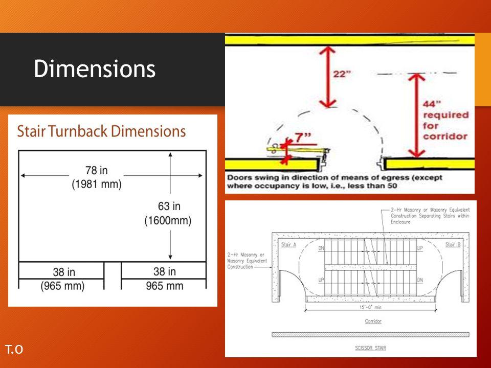 Dimensions T.O