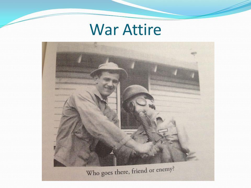 War Attire