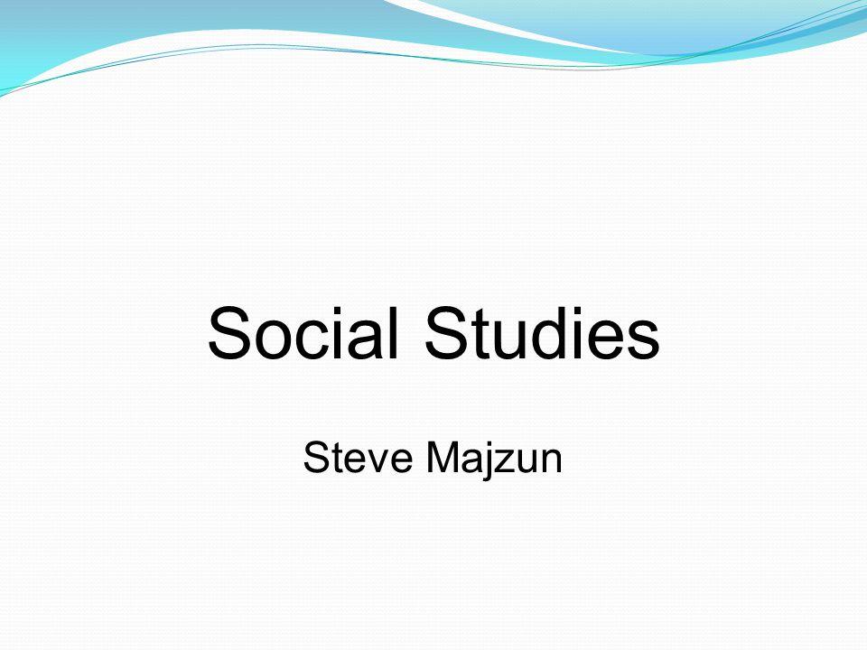 Social Studies Steve Majzun