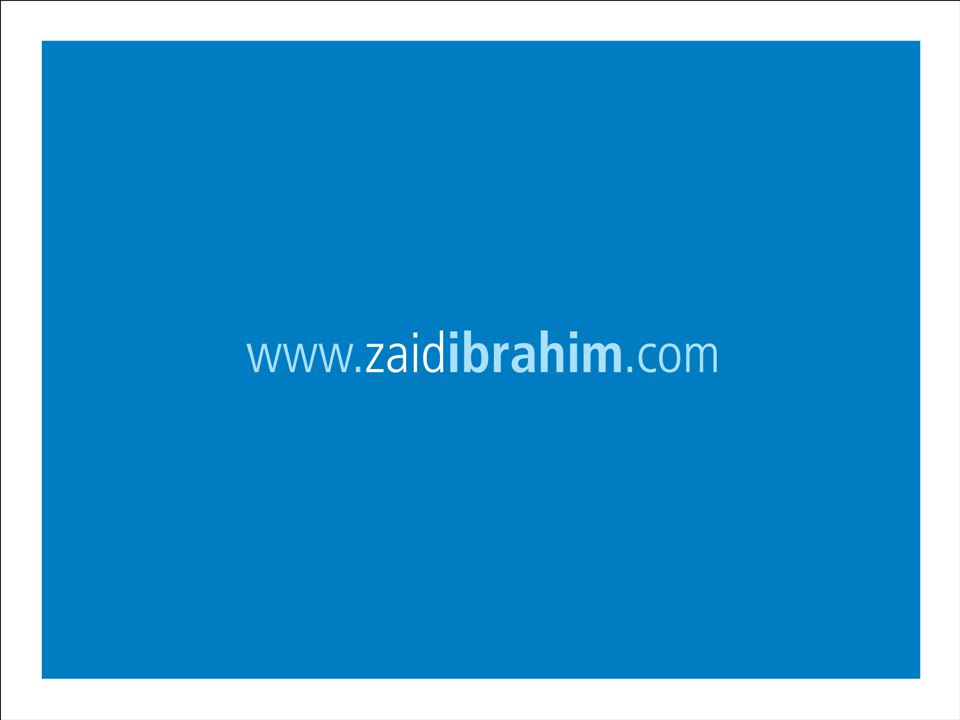 ©2007 Zaid Ibrahim & Co. All rights reserved