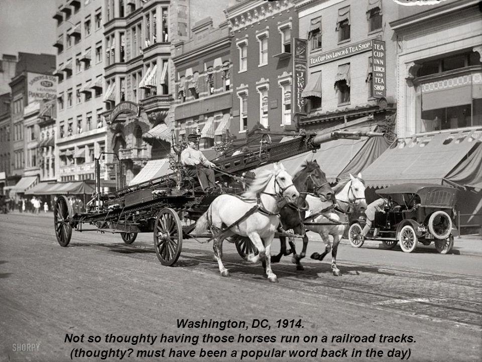 Carts for transporting dairy Thompson, Washington, 1927.