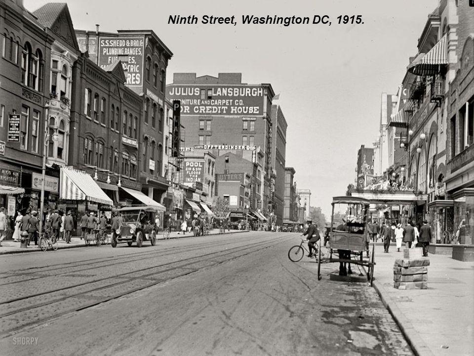 Cadillac Square, Detroit, Michigan, 1916.