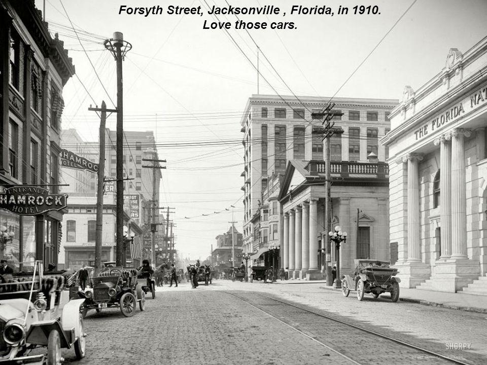 Station Louisville-Nashville, Florida, in 1910.