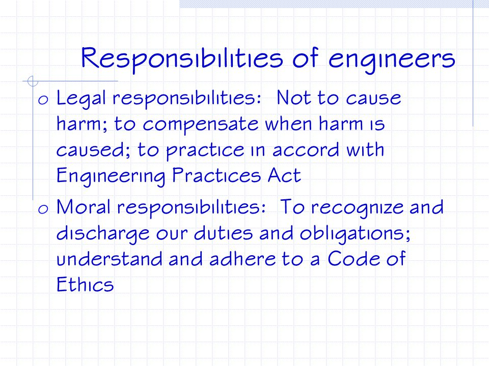Responsible--definition o Responsible: 1) liable to be called on to answer; liable to legal review or in case of fault to penalties; 2) able to answer
