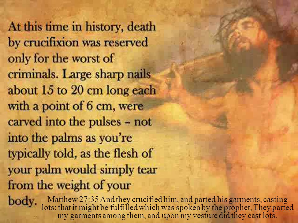 Lk 23:33 And when they were come to the place, which is called Calvary, there they crucified him, and the malefactors, one on the right hand, and the other on the left.