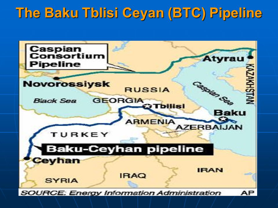 The Baku Tblisi Ceyan (BTC) Pipeline