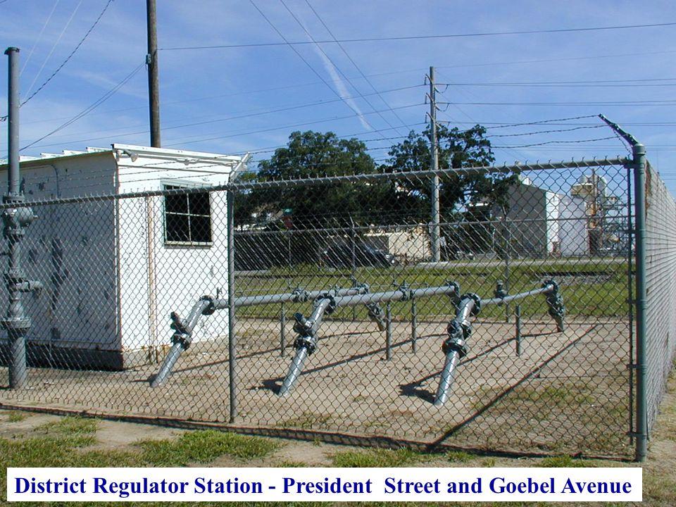 District Regulator Station - President Street and Goebel Avenue