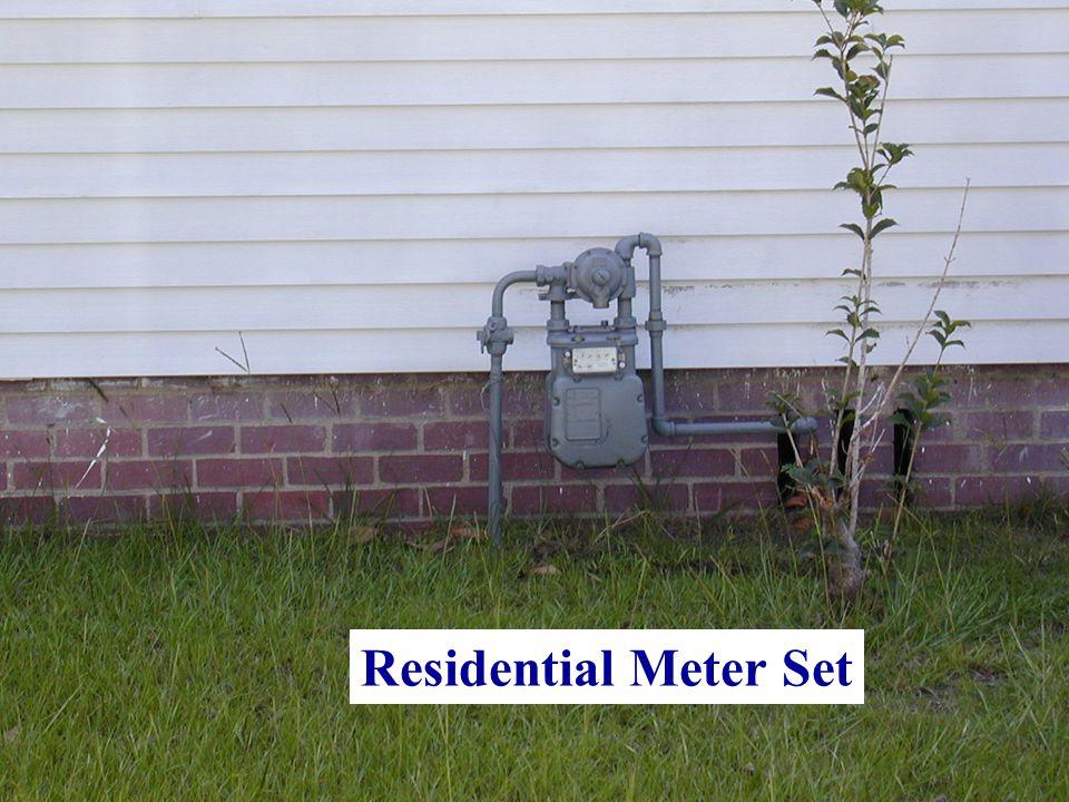 Residential Meter Set