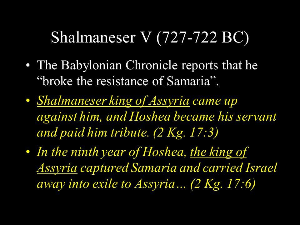 """Tiglath-pileser III (745-727 BC) Assyrian name """"Pulu"""" Chronicle of Tiglath-pileser"""