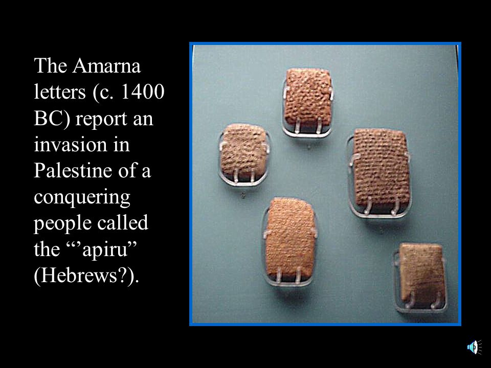 The Amarna letters (c.