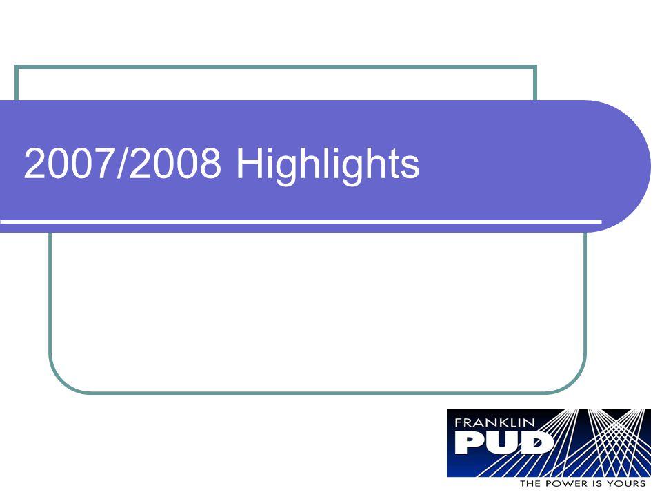 2007/2008 Highlights