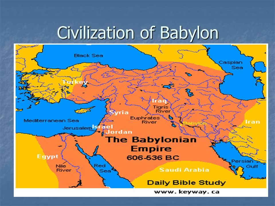 Civilization of Babylon