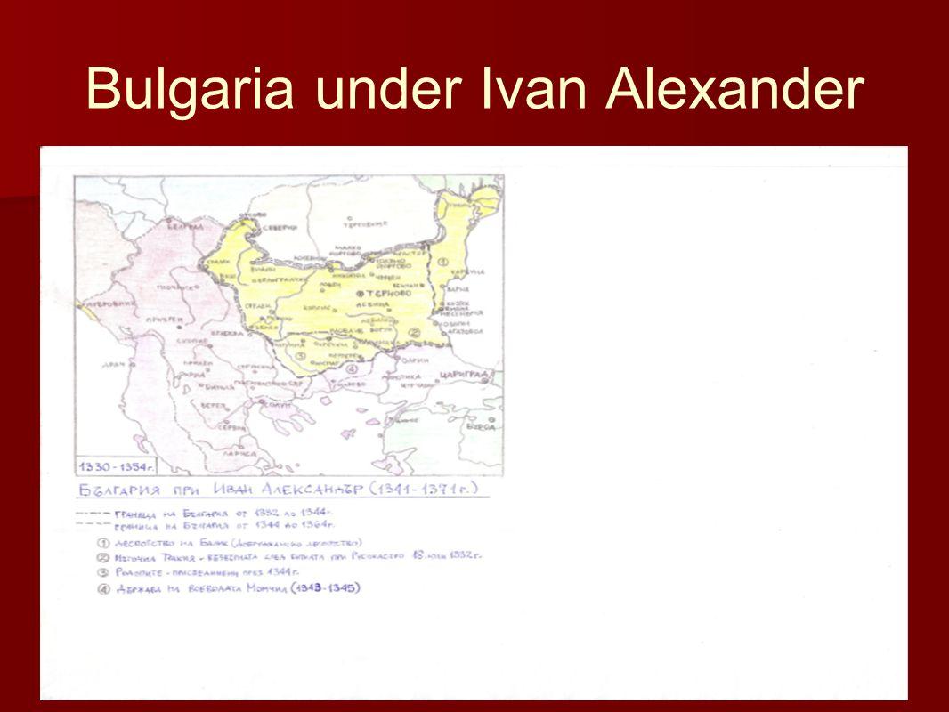 Bulgaria under Ivan Alexander