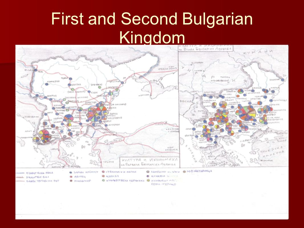 First and Second Bulgarian Kingdom