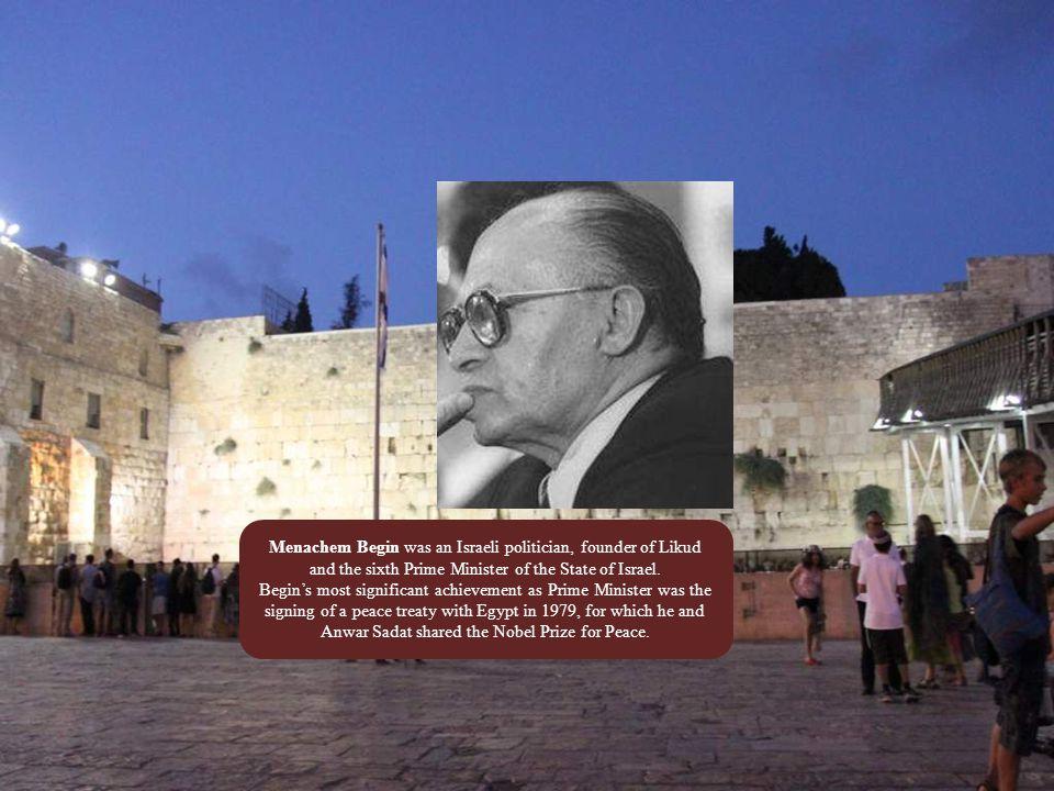Yitzhak Rabin was a politician, statesman and general.