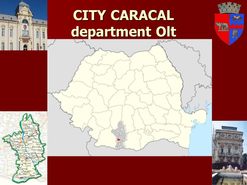 CITY CARACAL department Olt