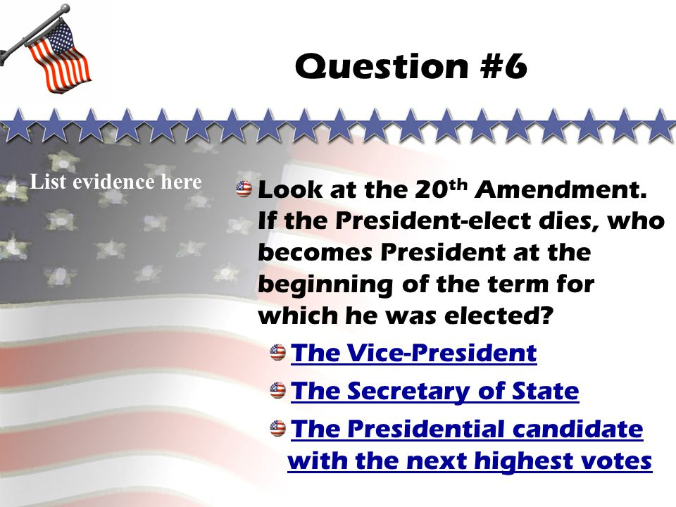 Question #5 Sorry, you are wrong! Go to correct answer