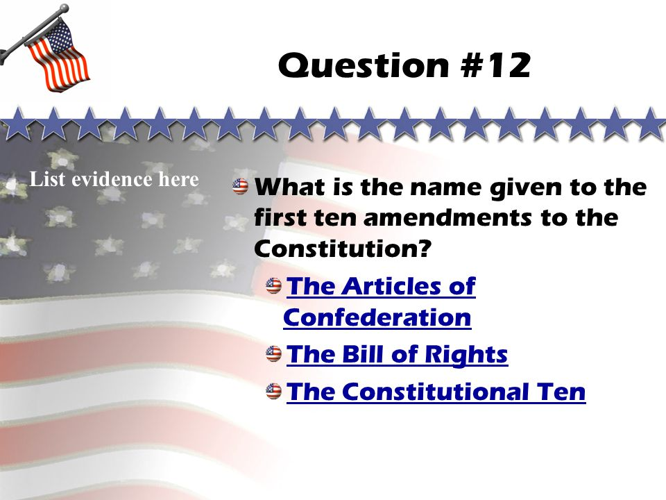 Question #11 Sorry, you are wrong! Go to correct answer