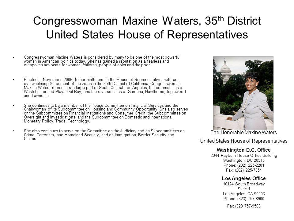 Congresswoman Diane E.