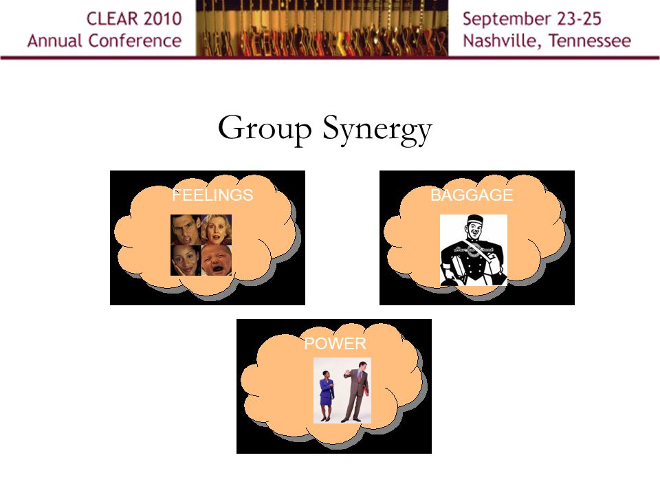 Group Synergy BAGGAGEFEELINGS POWER